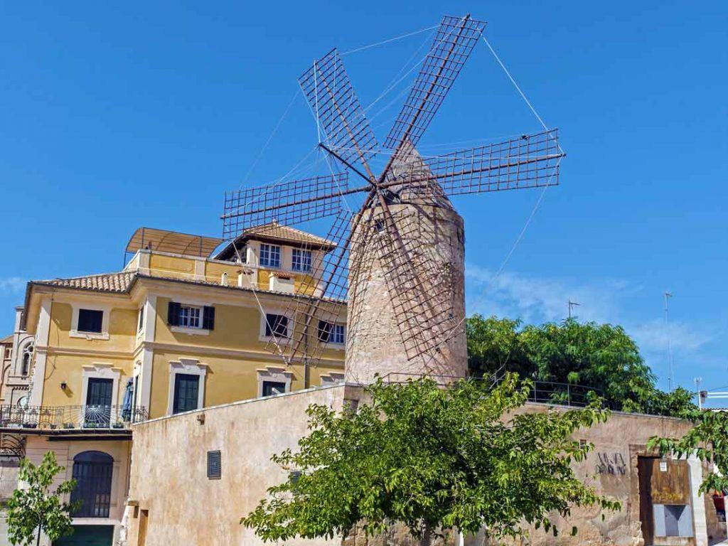 Windmills of Es Jonquet