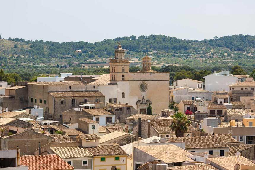 Beautifull panoramic view of Arta village
