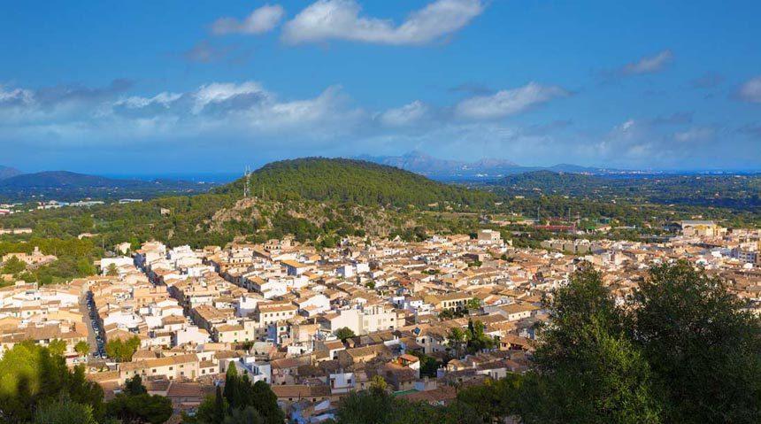 Beutifull panoramic view from the top of El Calvario church