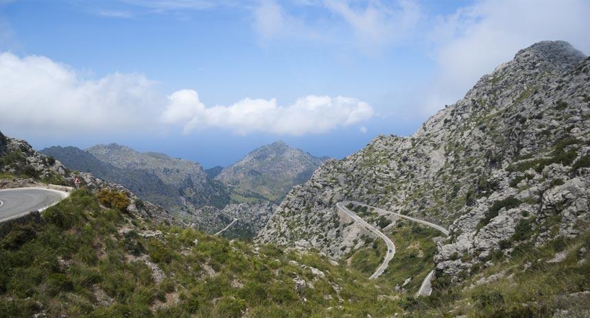 Mountains at the Sierra de Tramuntana