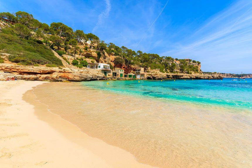 Beautifull Cala Llombards beach
