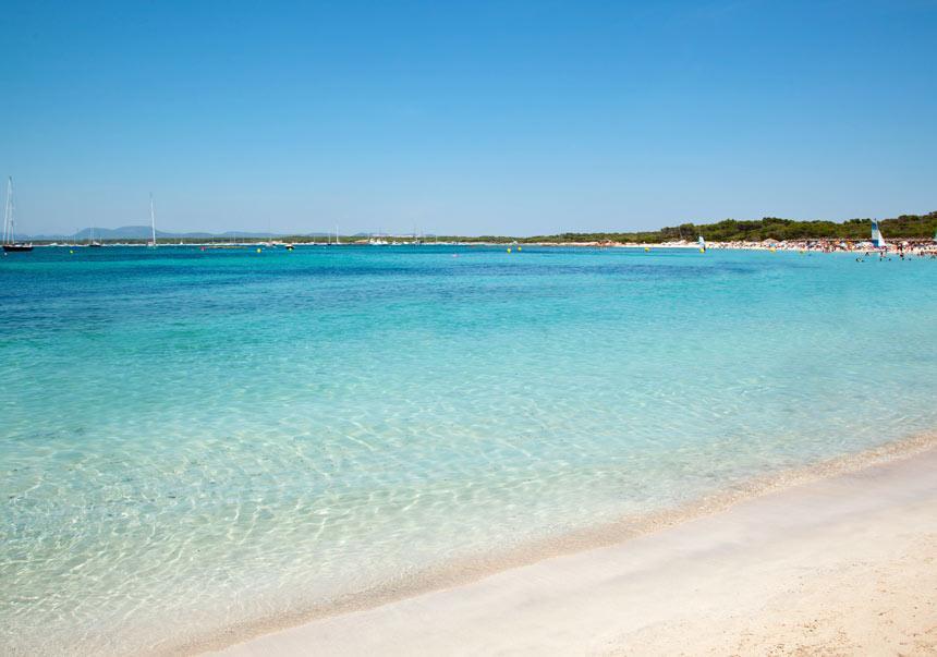 es trence es trec es tranc beach Mallorca