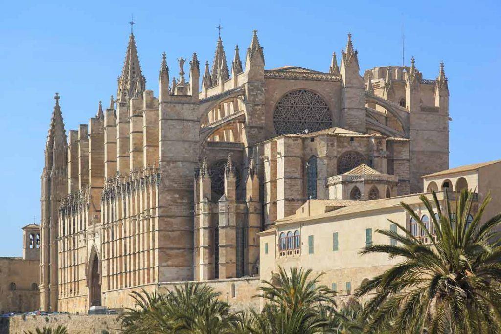 Palma Mallorca Cathedral main Façade