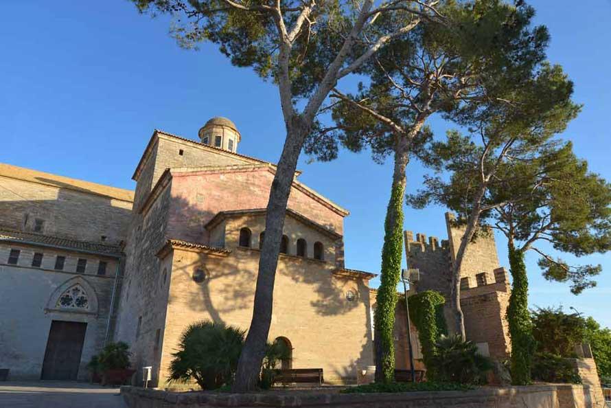 Main church of Alcudia called San Jaume