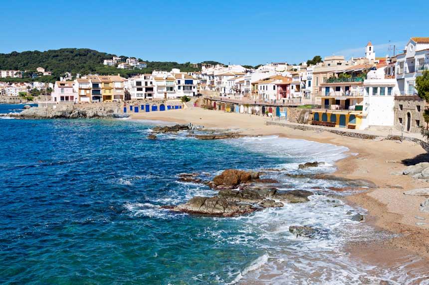 Calella Palafurgell beach