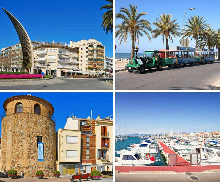 Cambrils photo collage