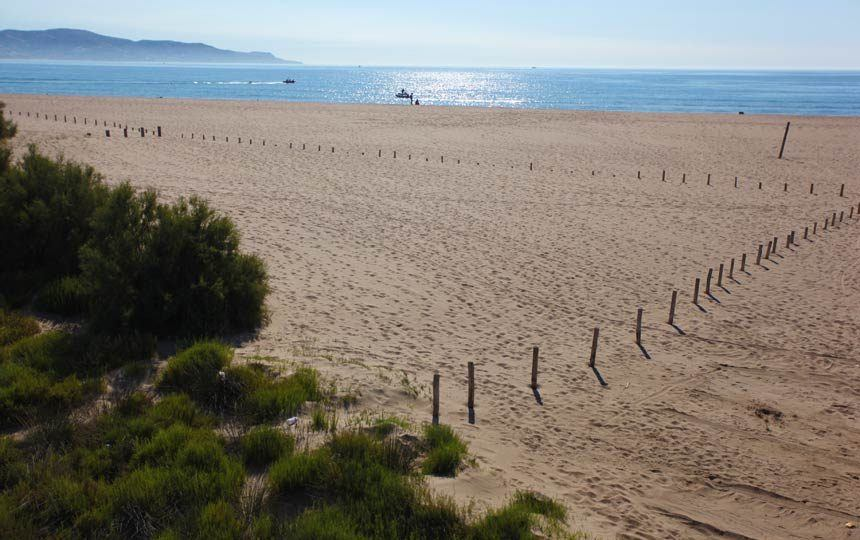 Can Comes beach, Empuriabrava, Costa Brava Spain
