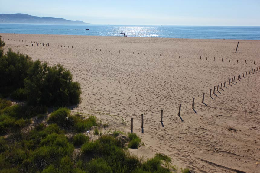 Can Comes beach, Empuriabrava, Costa Brava Spain