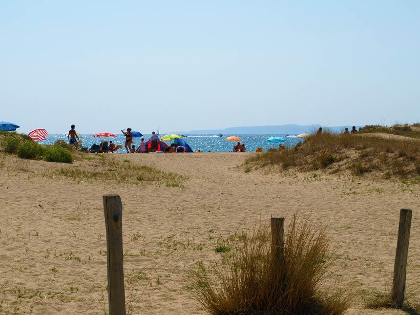 Can Comas beach