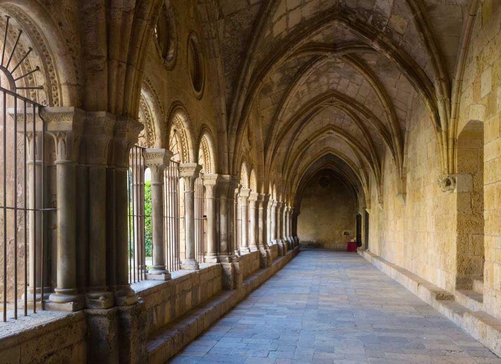 Inside Tarragona Cathedral