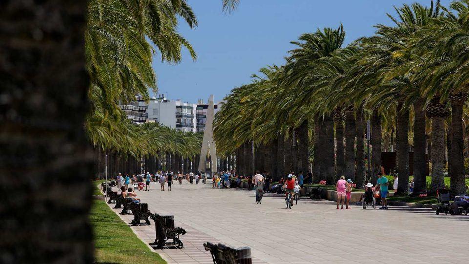 Salou-main- Promenade Jaume I, Salou