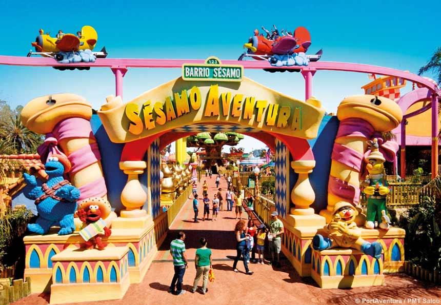 Sesamo Aventura area in PortAventura theme park