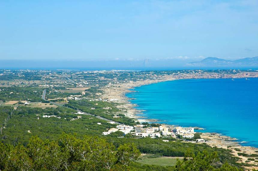 Formentera landscape