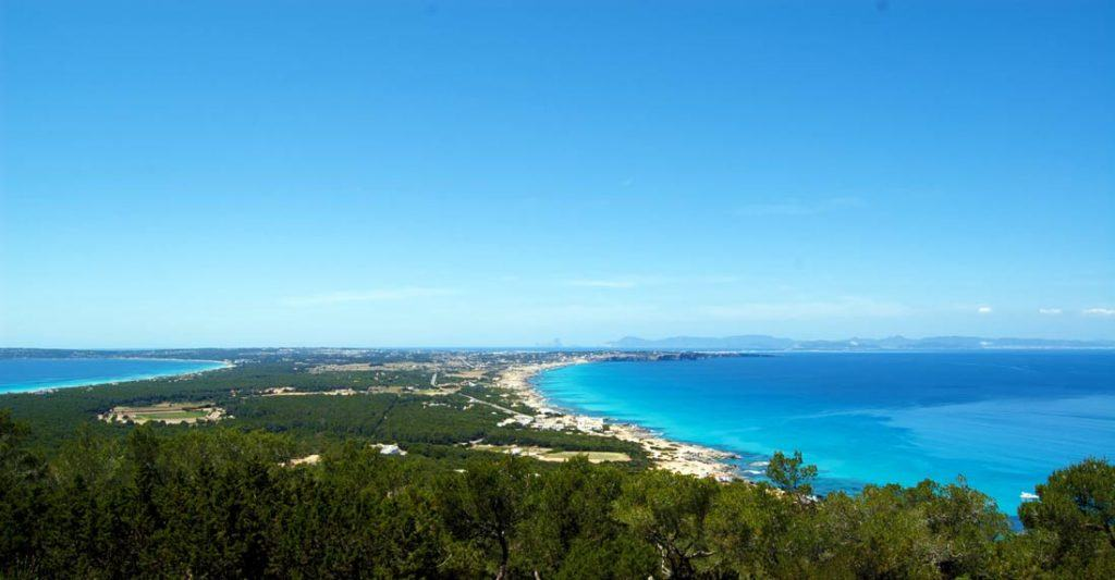 Spectacular Formentera viewpoint