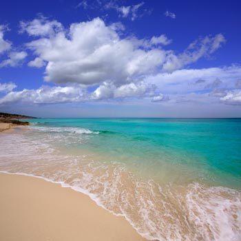 Playa Mitjorn, Formentera