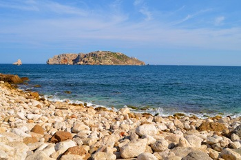 Cala Ferriol beach, l'Estartit Costa Brava