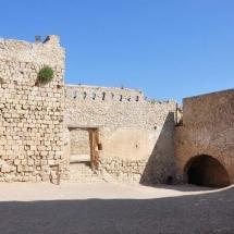 Interior del Castillo de Miravet
