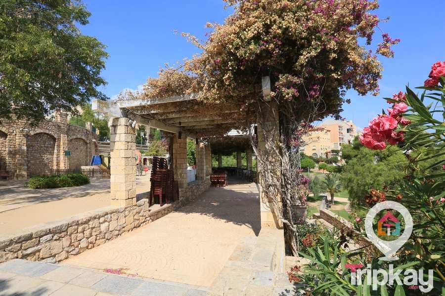 pasillos del parque de las granotes en Tarragona