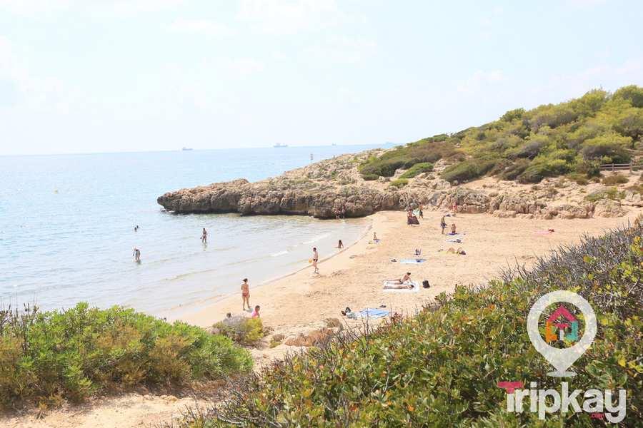 playa capellans en tarragona