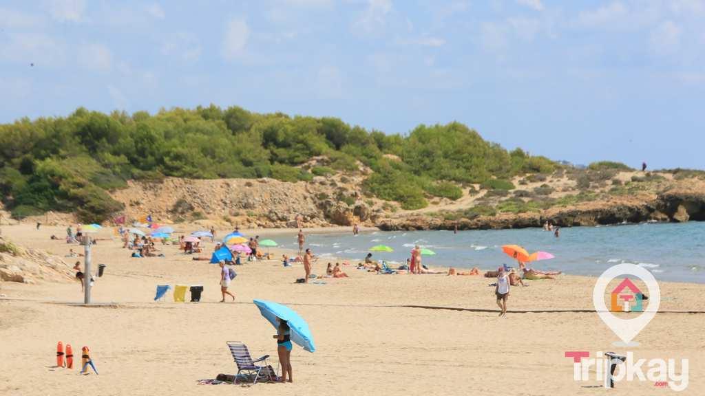 playa sabinosa en tarragona