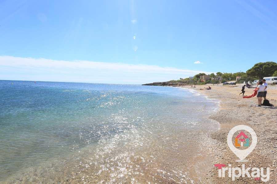 Platja del Estany en Ametlla de Mar