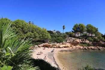 cala llobeta, playas de l'Ametlla de Mar