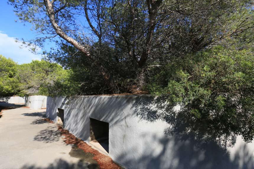 fortificaciones guerra civil en l'Ametlla de Mar