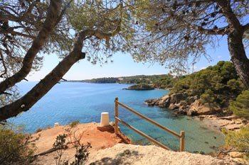 Playa de l'Illot en ametlla de mar