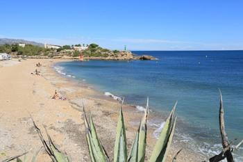 Playa de l'Estany en Ametlla de Mar