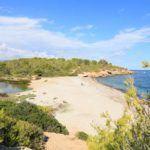Playa Santes Creus en l'Ametlla de Mar