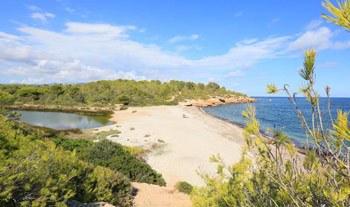 Playa santes creus