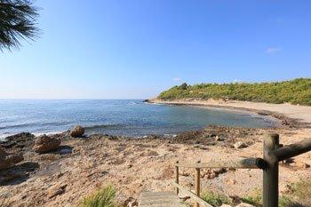 Playa del Torrent del Pi ametlla de mar