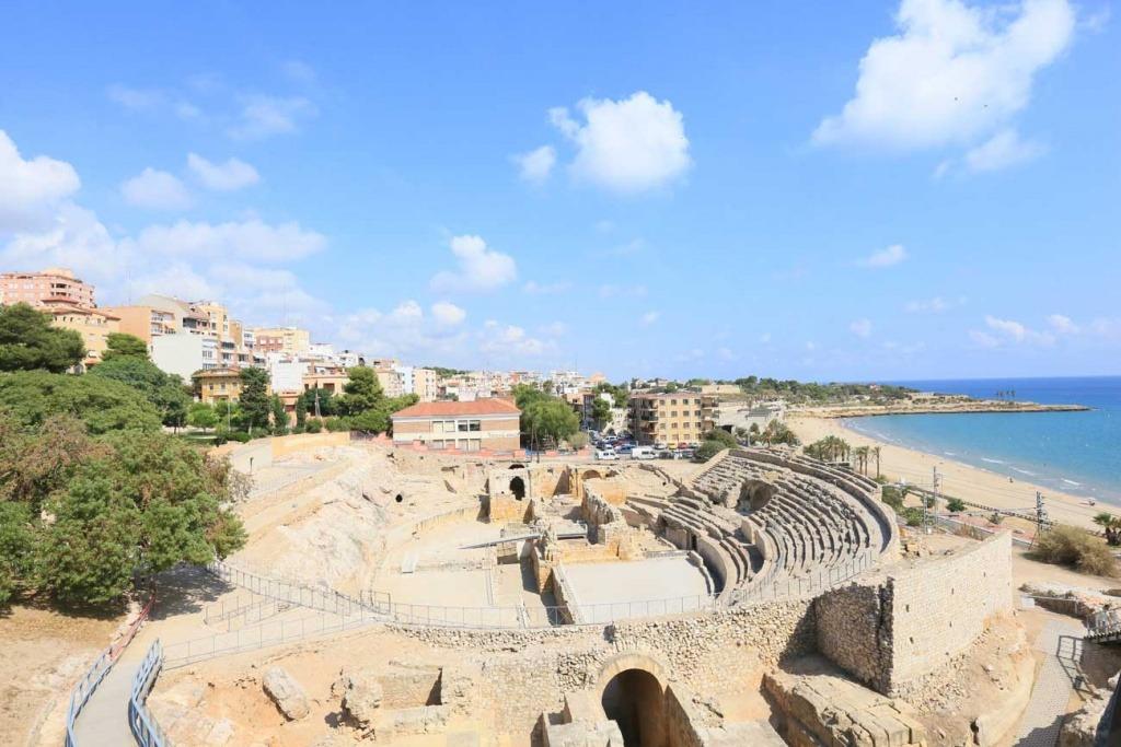 playa del miracle en Tarragona