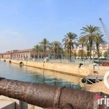 Moll de Costa en Tarragona