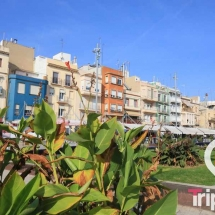 Barrio del Serrallo en Tarragona