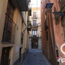 calles estrechas del barrio judio de tarragona