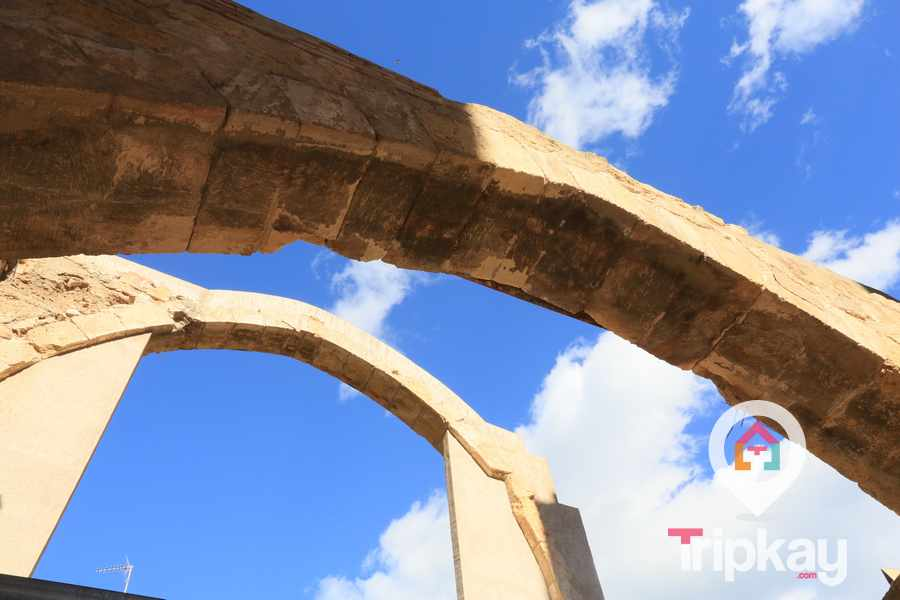 arcos del barrio judio de Tarragona