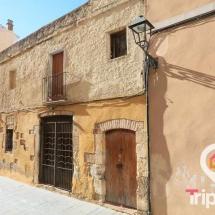 casas antiguas del barrio judio de tarragona