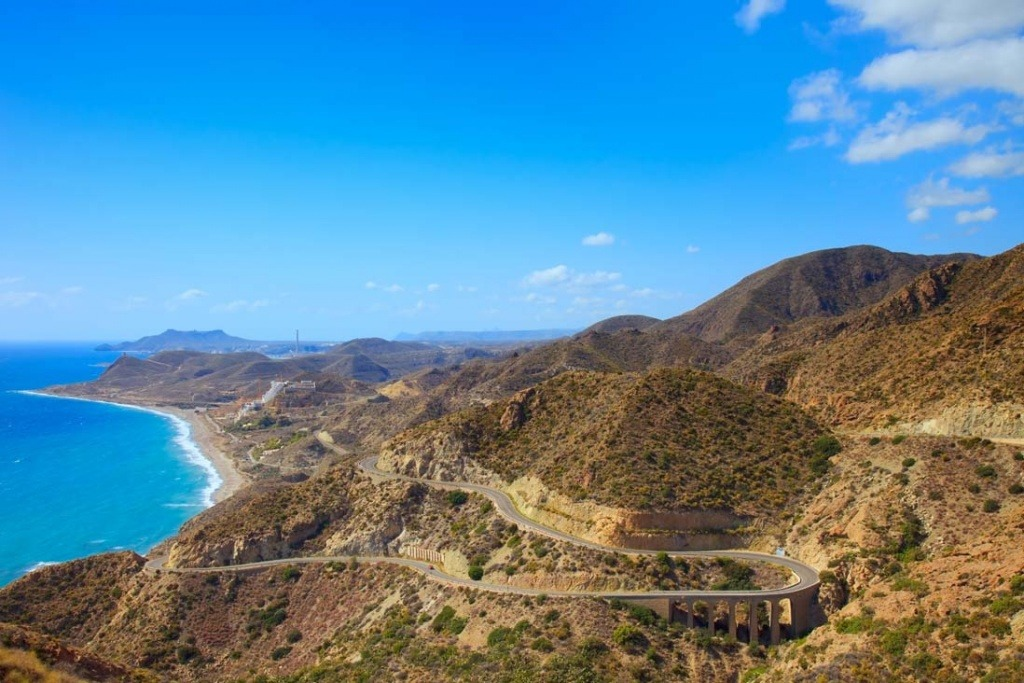 cabo de gata panoramic view