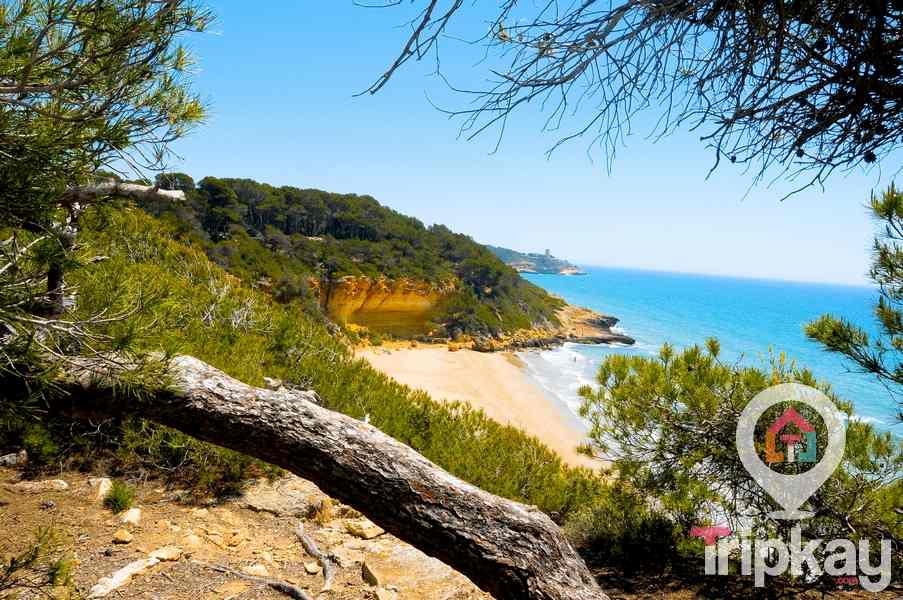 Cala FOnda en Tarragona