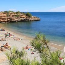 playa cala llenya en Ametlla de Mar