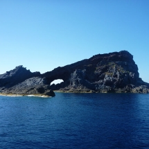 Columbretes islands panoramic view
