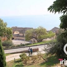 vista del anfiteatro desde los jardines del miracle