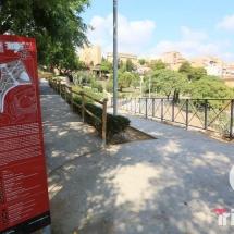 entrada a los jardines del miracle en tarragona
