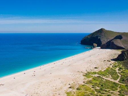 playa de los muertos en Almeria