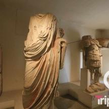 Esculturas en el museo arquologico de Tarragona de la planta baja