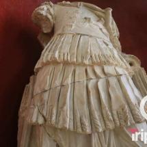 escultura romana en la primera planta del museo arqueologico