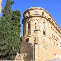 Fachada del Museo arqueologico de Tarragona