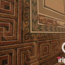 mosaico romano en la planta 1 del museo arqueologico