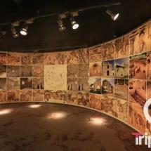 Sala de audiovisuales en el museo arqueologico de tarragona